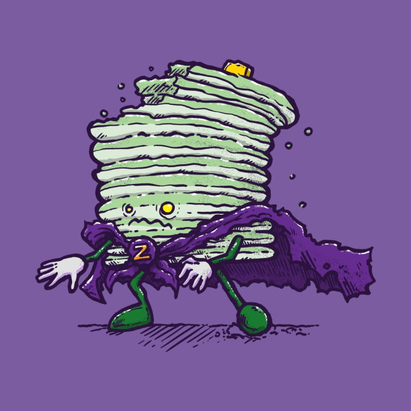 Captain Zombiecake Men's T-Shirt by nickv47