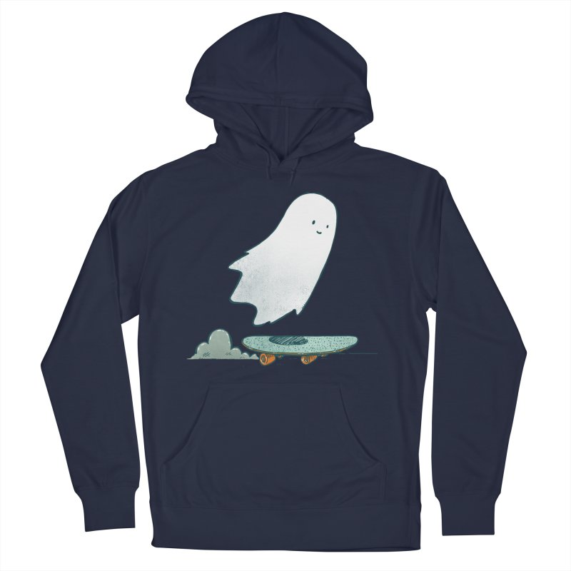 The Ghost Skater Women's French Terry Pullover Hoody by nickv47