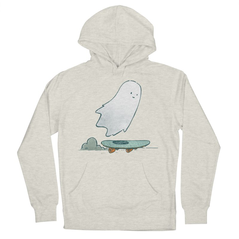 The Ghost Skater Men's French Terry Pullover Hoody by nickv47