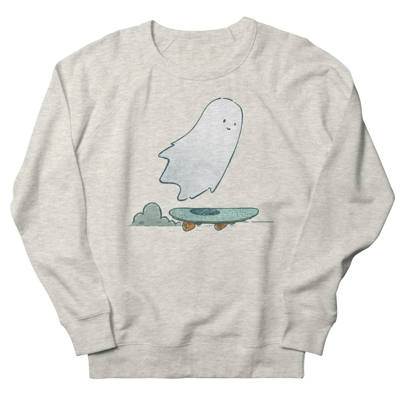 The Ghost Skater Women's French Terry Sweatshirt by nickv47