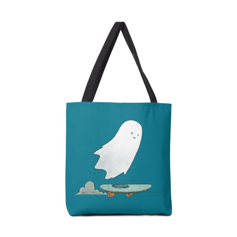 The Ghost Skater Accessories Tote Bag Bag by nickv47