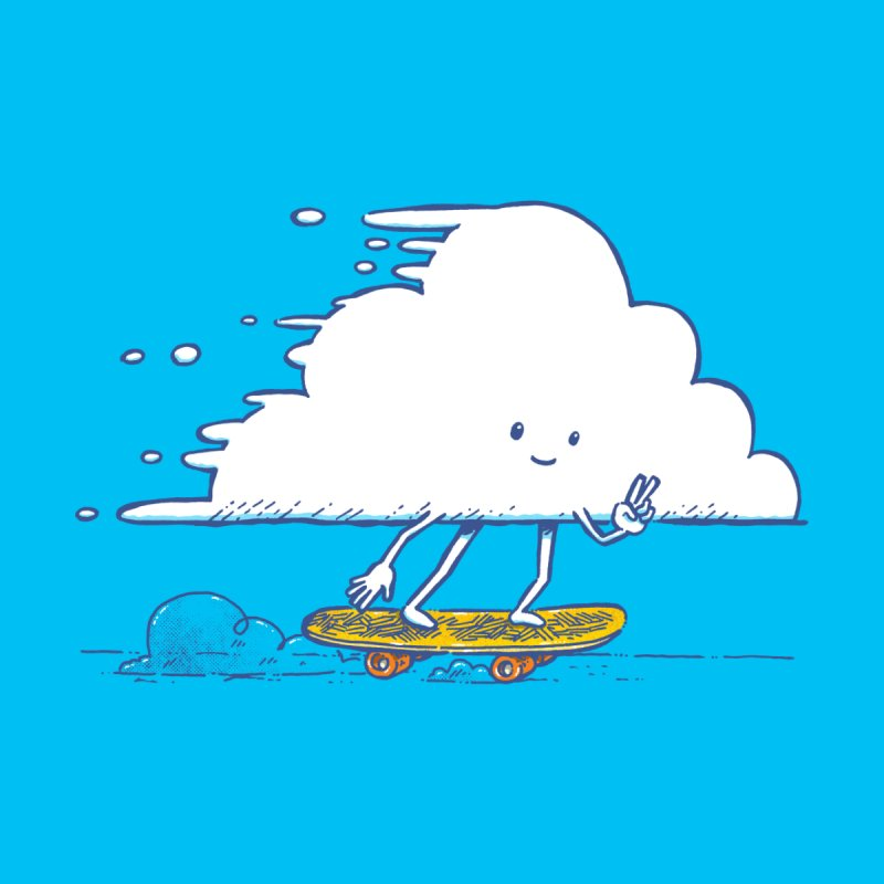 The Cloud Skater   by nickv47