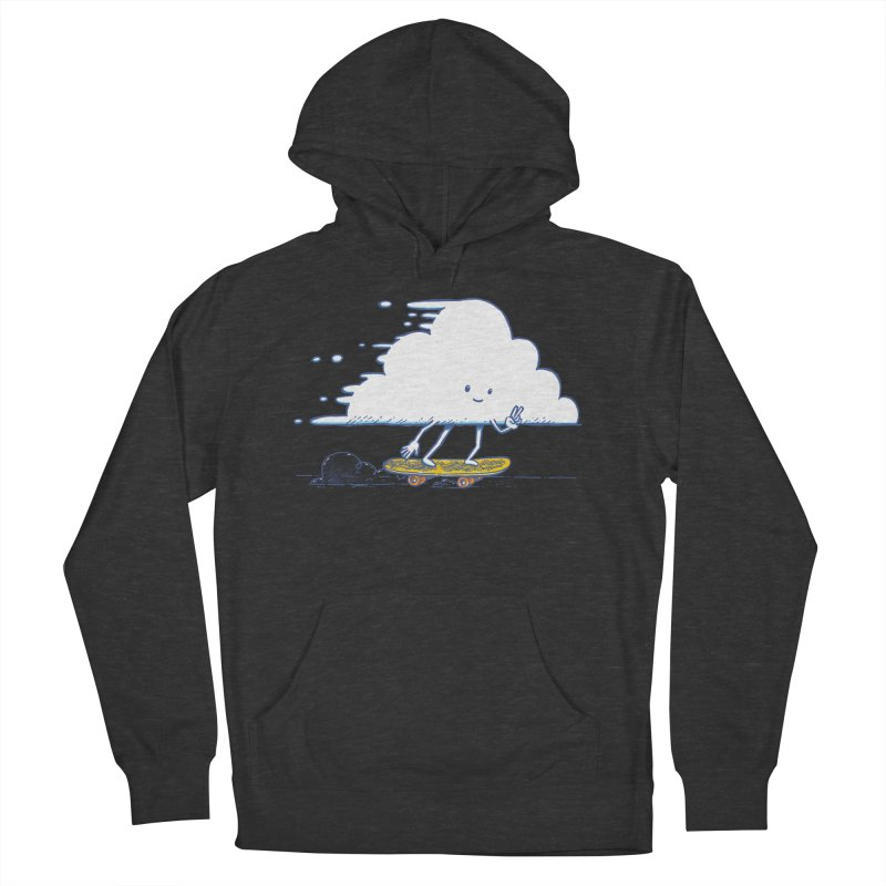 The Cloud Skater Women's French Terry Pullover Hoody by nickv47