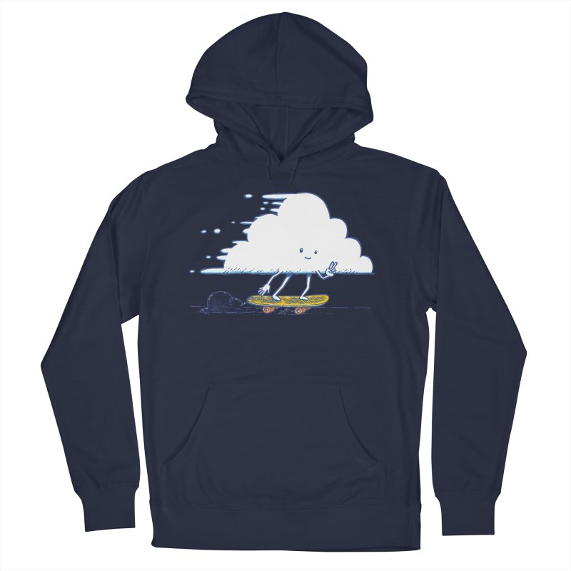The Cloud Skater Men's French Terry Pullover Hoody by nickv47