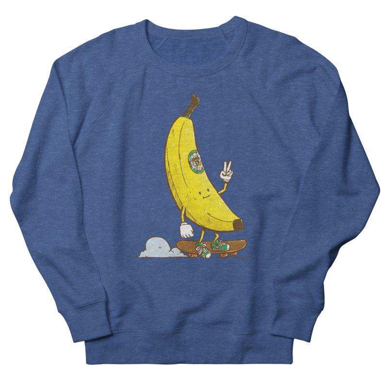 The Banana Skater Women's French Terry Sweatshirt by nickv47