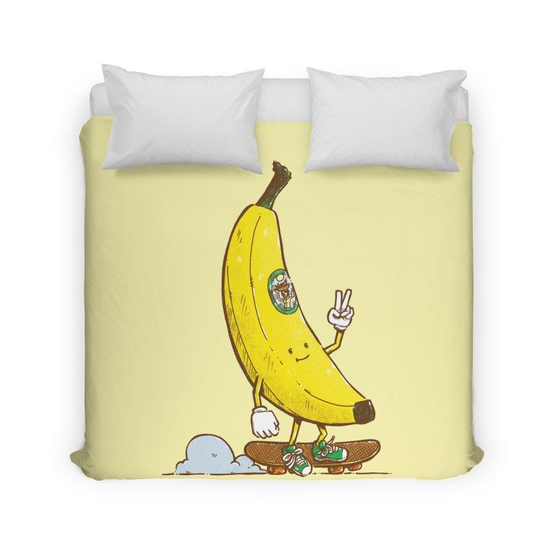 The Banana Skater Home Duvet by nickv47