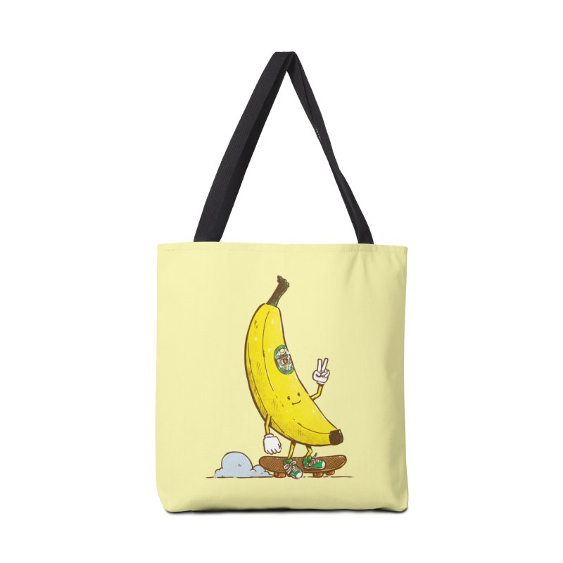 The Banana Skater Accessories Tote Bag Bag by nickv47