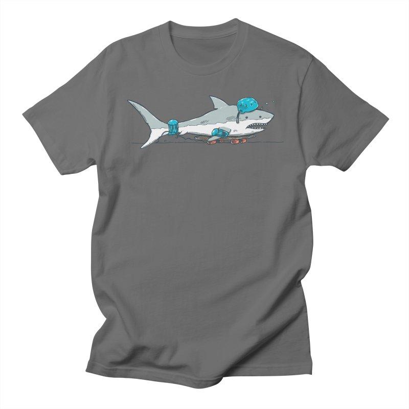 The Shark Skater Men's T-Shirt by nickv47
