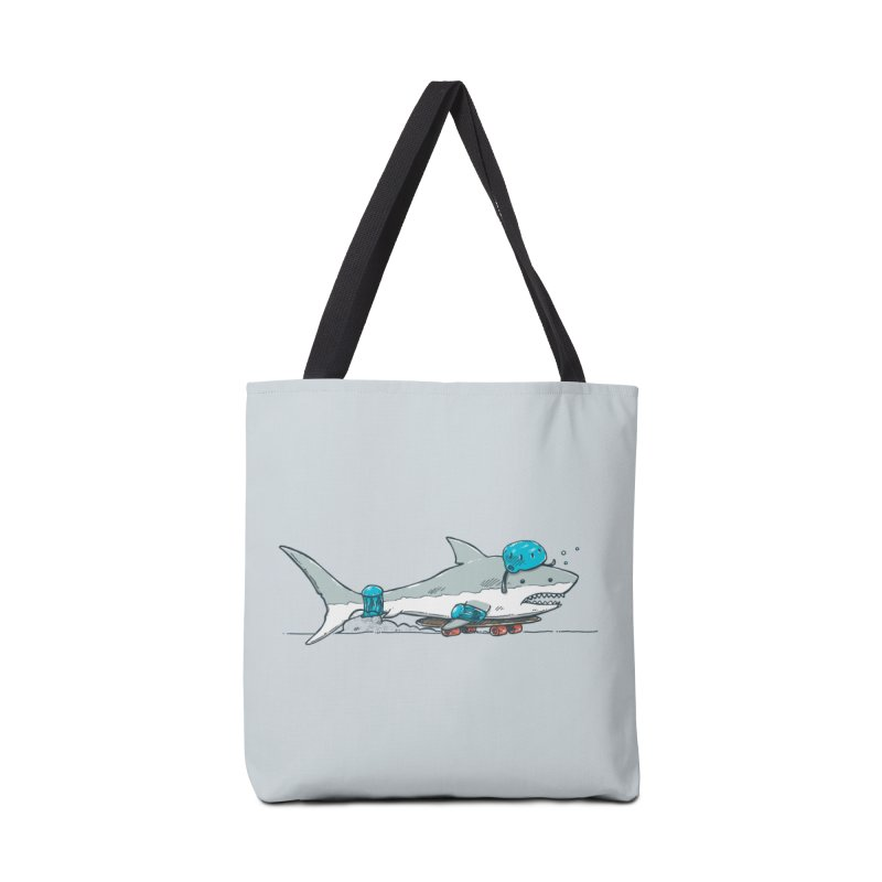The Shark Skater Accessories Tote Bag Bag by nickv47
