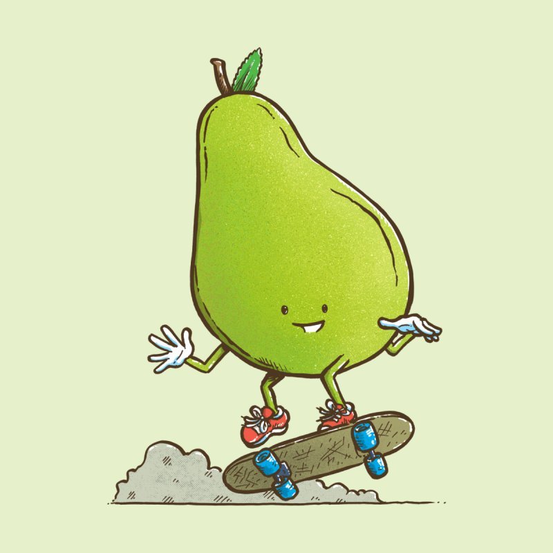 The Pear Skater by nickv47
