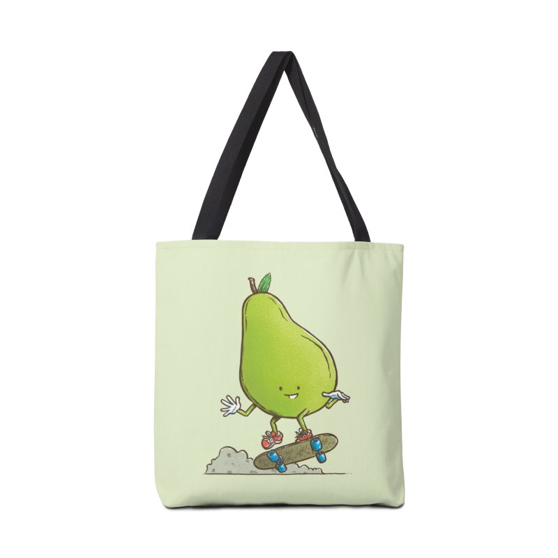 The Pear Skater Accessories Tote Bag Bag by nickv47