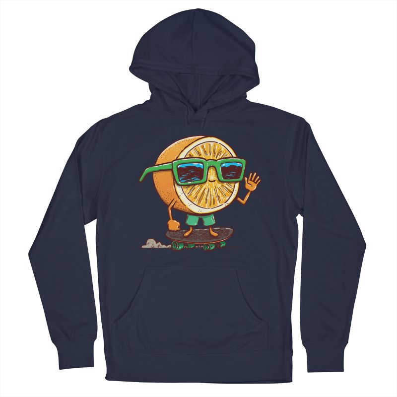 The Orange Skater Women's French Terry Pullover Hoody by nickv47