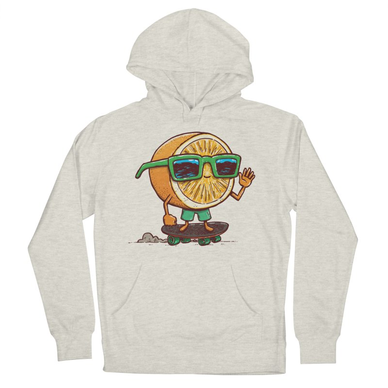 The Orange Skater Men's French Terry Pullover Hoody by nickv47
