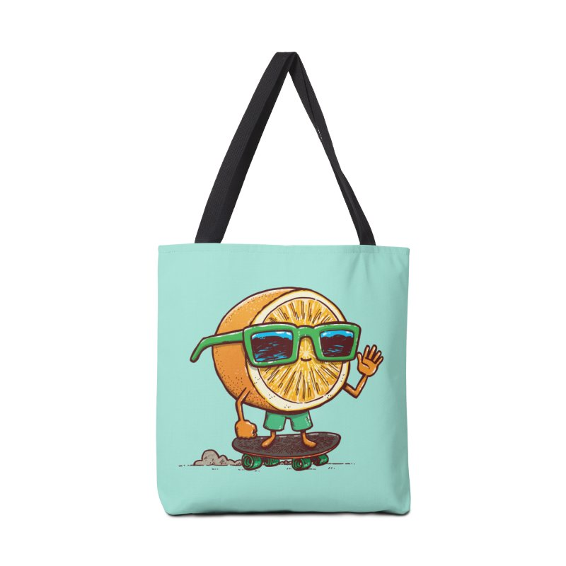The Orange Skater Accessories Tote Bag Bag by nickv47
