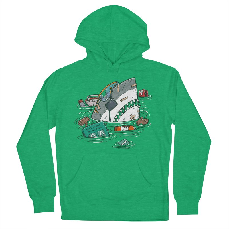 Safety Third Shark Women's French Terry Pullover Hoody by nickv47