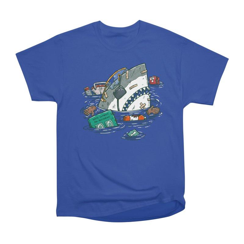 Safety Third Shark Women's Heavyweight Unisex T-Shirt by nickv47