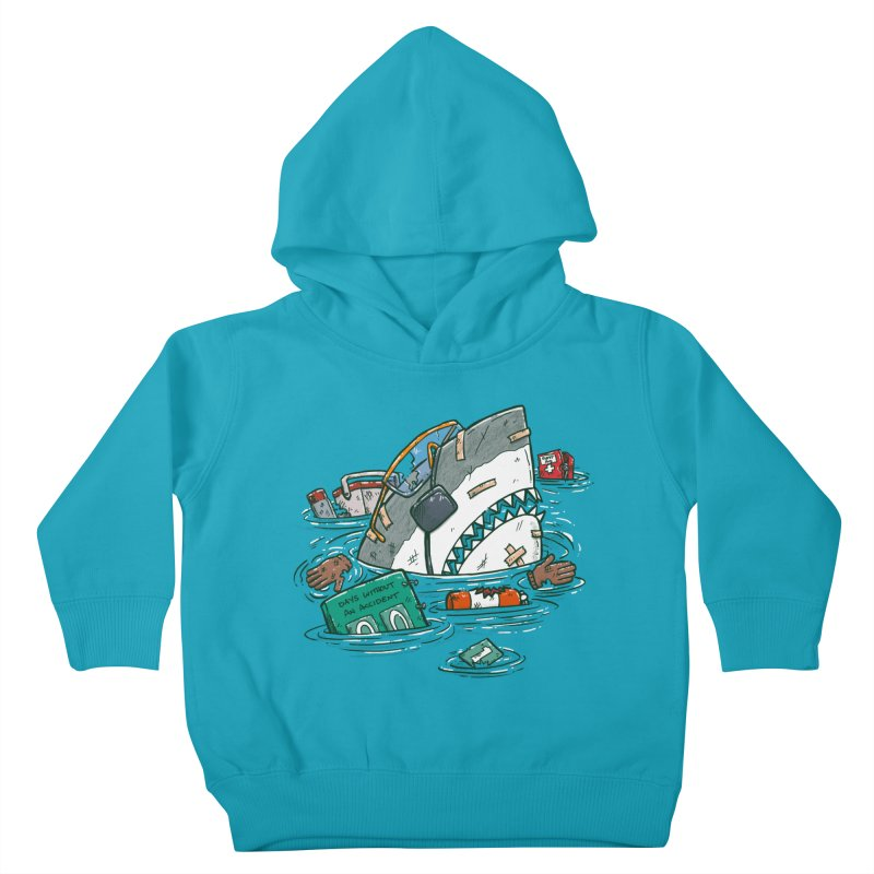 Safety Third Shark Kids Toddler Pullover Hoody by nickv47