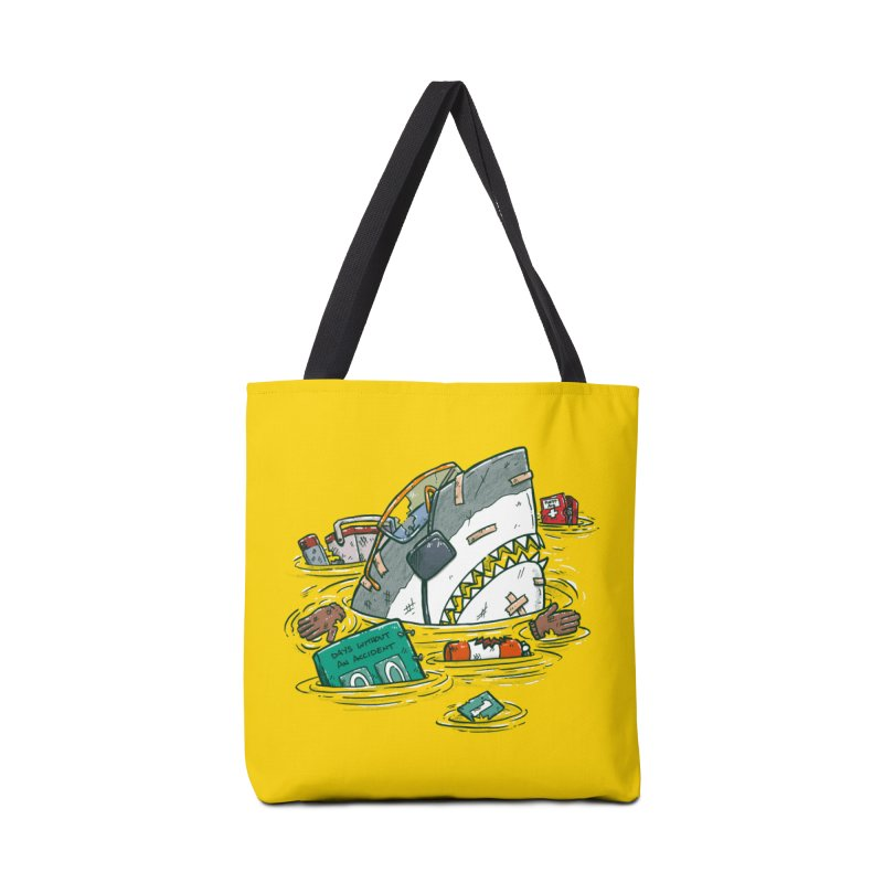 Safety Third Shark Accessories Tote Bag Bag by nickv47