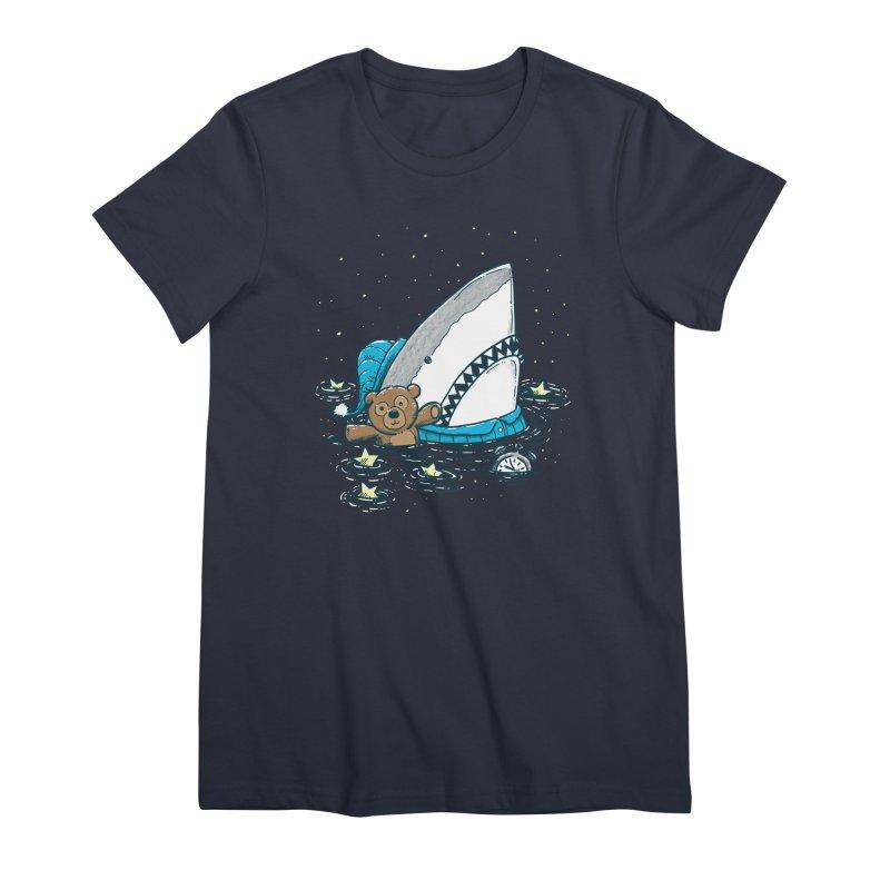 The Sleepy Shark Women's Premium T-Shirt by nickv47