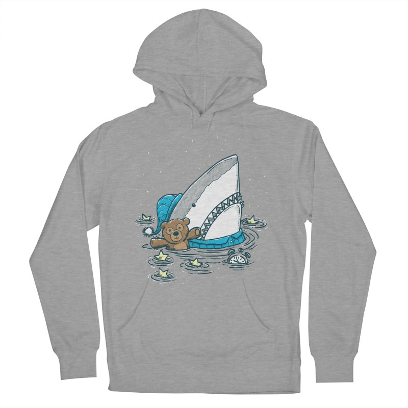 The Sleepy Shark Women's French Terry Pullover Hoody by nickv47