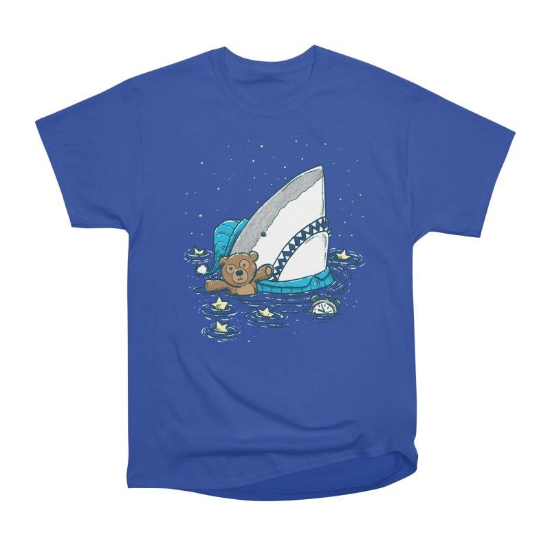The Sleepy Shark Women's Heavyweight Unisex T-Shirt by nickv47