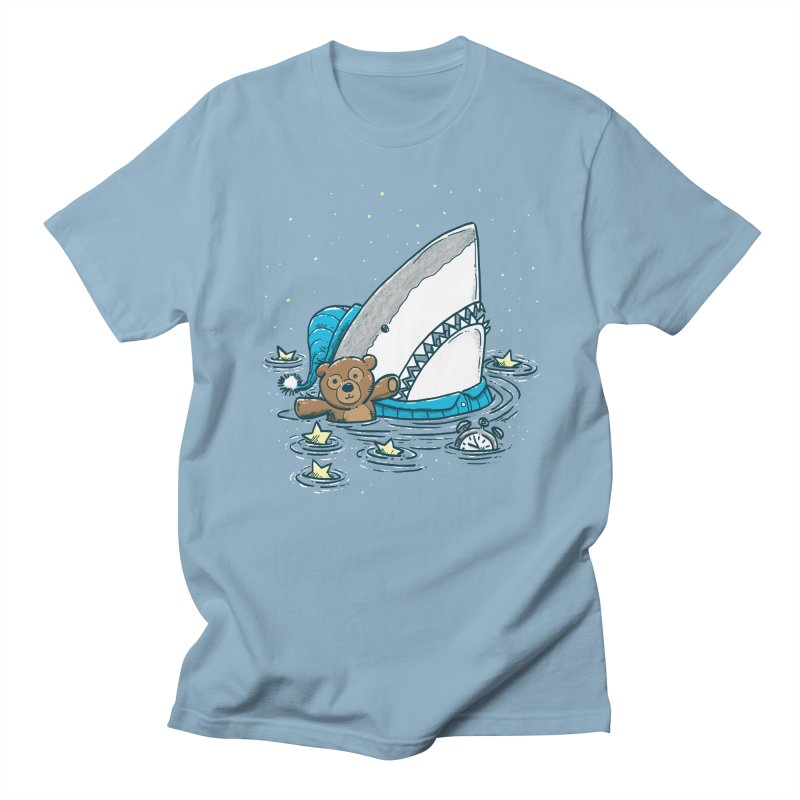 The Sleepy Shark Men's Regular T-Shirt by nickv47