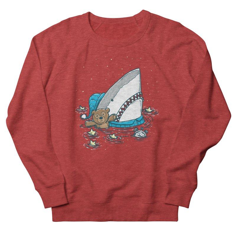 The Sleepy Shark Women's French Terry Sweatshirt by nickv47