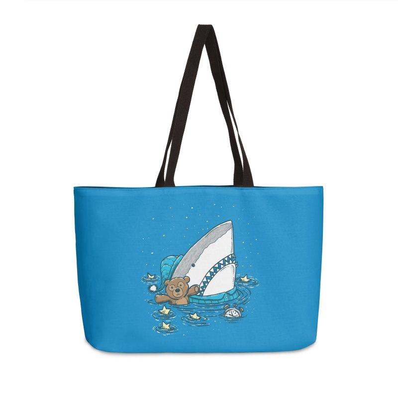 The Sleepy Shark Accessories Weekender Bag Bag by nickv47