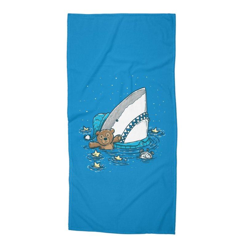 The Sleepy Shark Accessories Beach Towel by nickv47