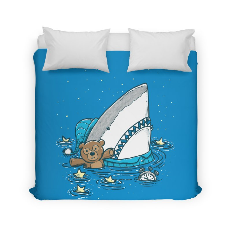 The Sleepy Shark Home Duvet by nickv47