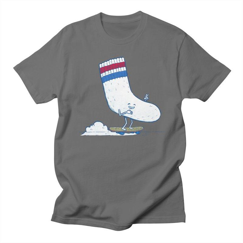 Lost Sock Skater Men's T-Shirt by nickv47