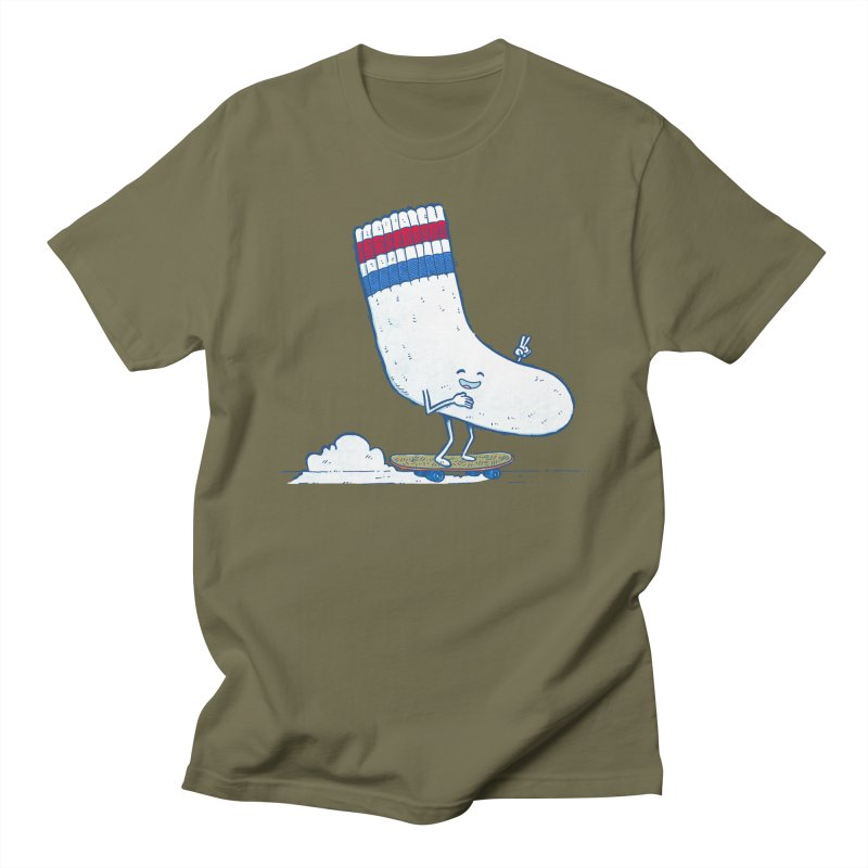 Lost Sock Skater Men's Regular T-Shirt by nickv47