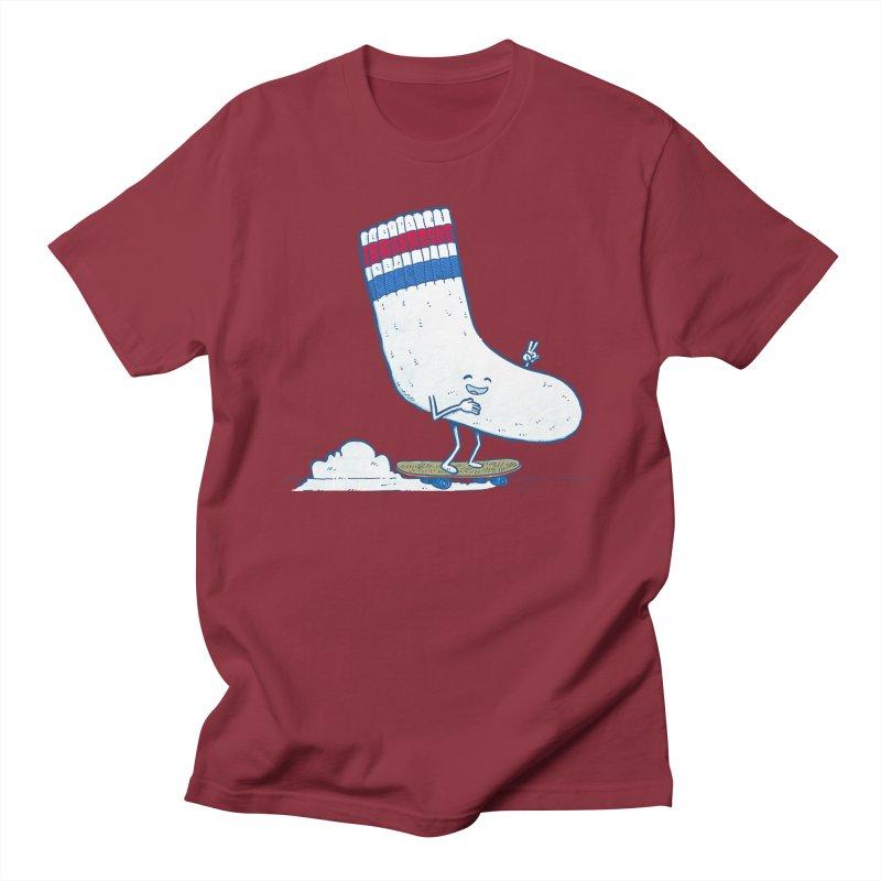 Lost Sock Skater Men's Regular T-Shirt by nickv47