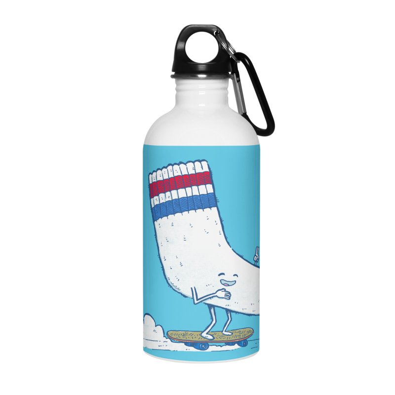 Lost Sock Skater Accessories Water Bottle by nickv47