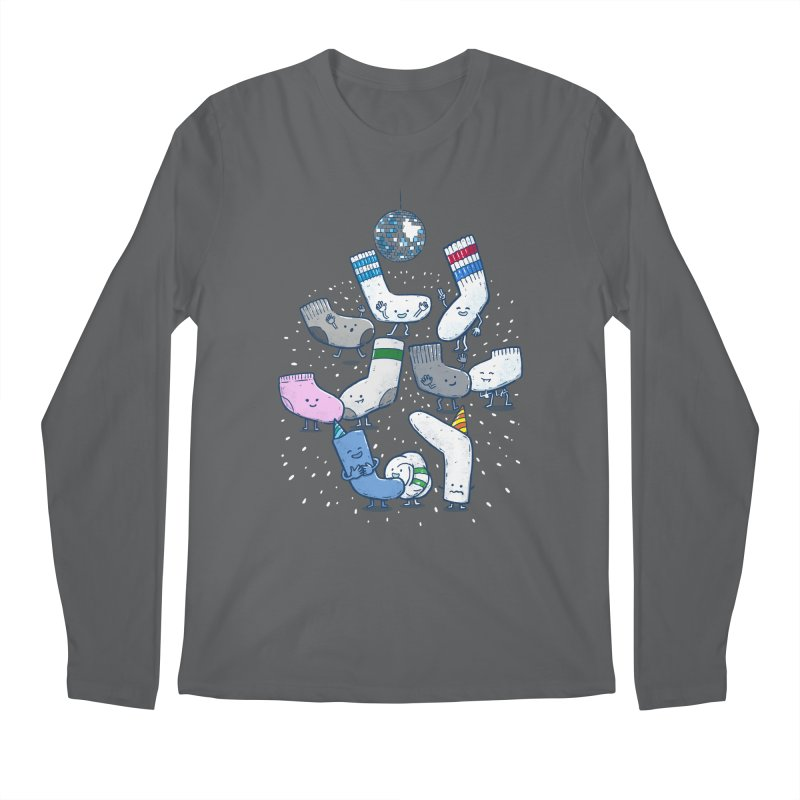 Lost Sock Party Men's Regular Longsleeve T-Shirt by nickv47