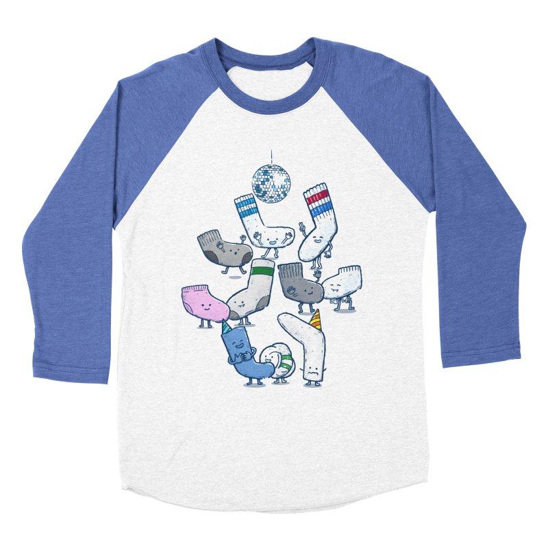 Lost Sock Party Men's Baseball Triblend Longsleeve T-Shirt by nickv47