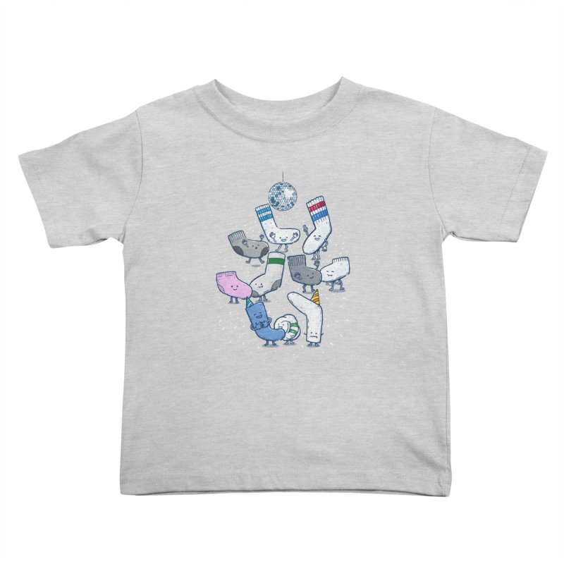 Lost Sock Party Kids Toddler T-Shirt by nickv47