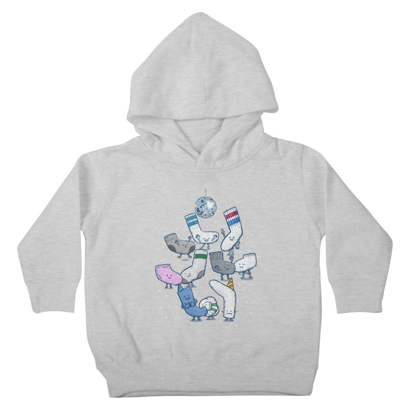 Lost Sock Party Kids Toddler Pullover Hoody by nickv47
