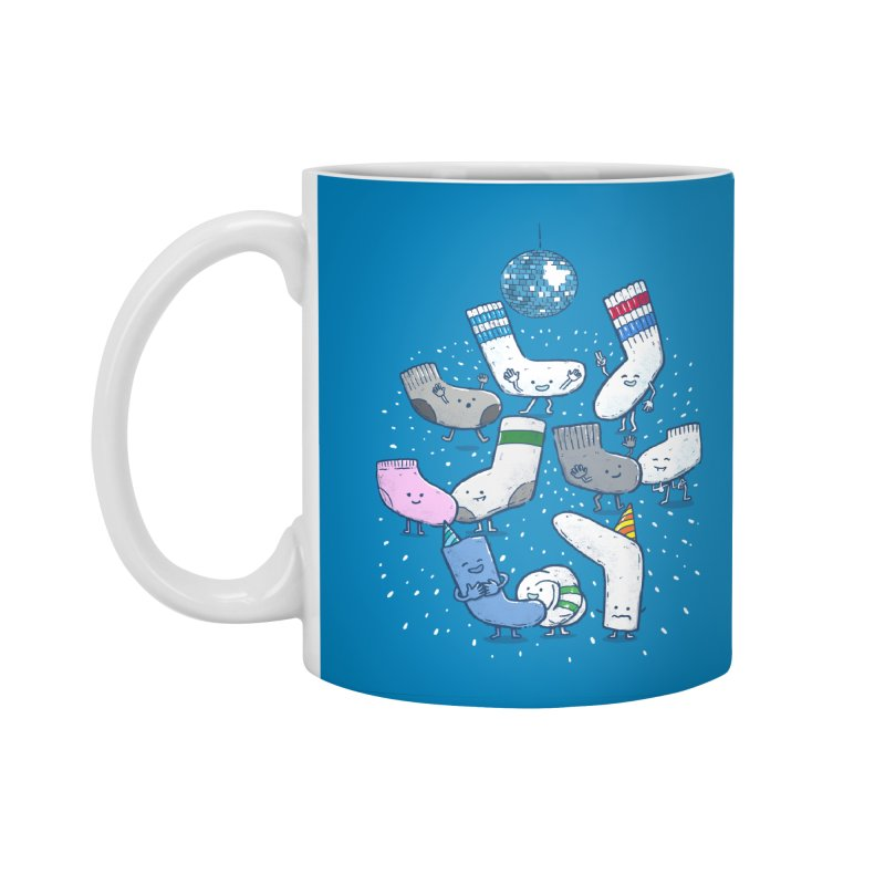 Lost Sock Party Accessories Standard Mug by nickv47