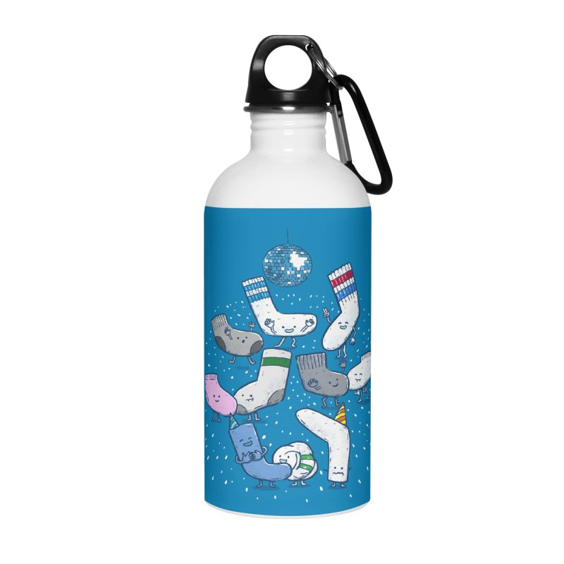 Lost Sock Party Accessories Water Bottle by nickv47