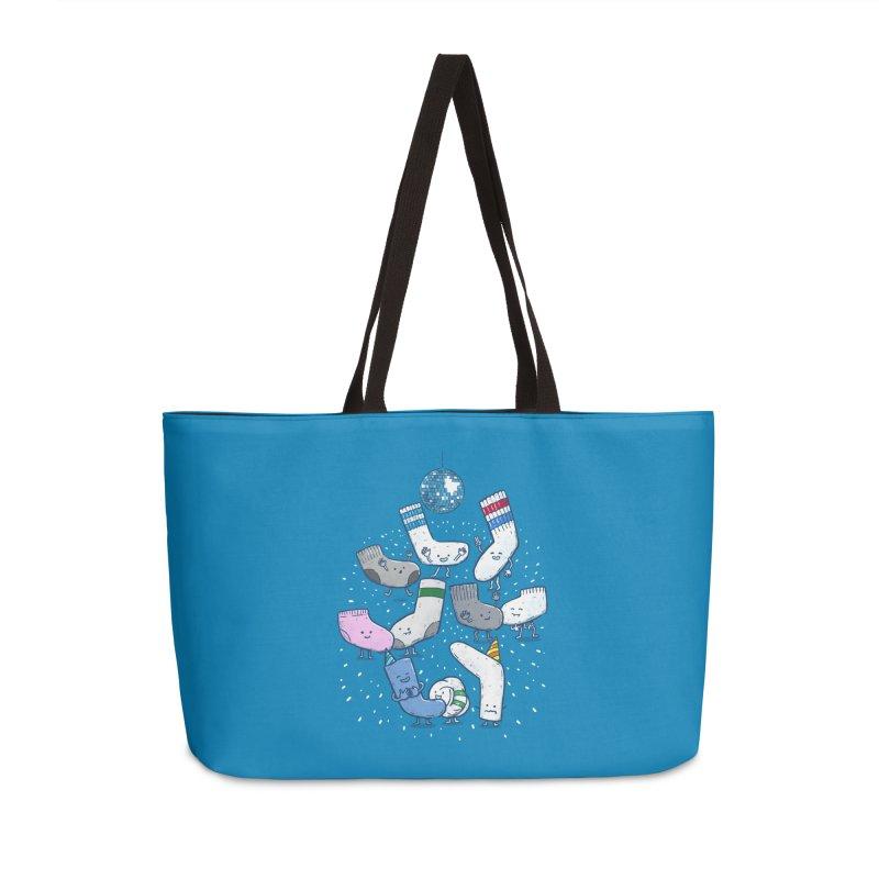 Lost Sock Party Accessories Weekender Bag Bag by nickv47