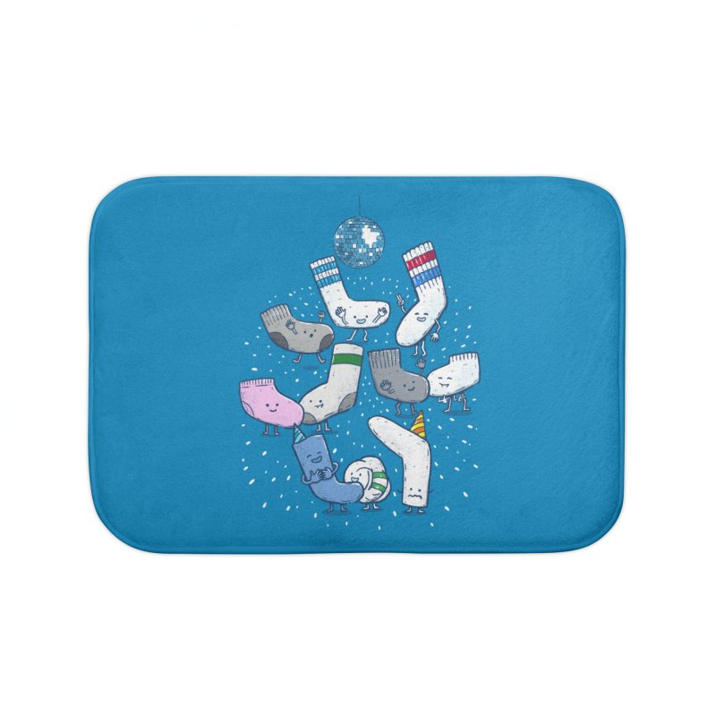 Lost Sock Party Home Bath Mat by nickv47