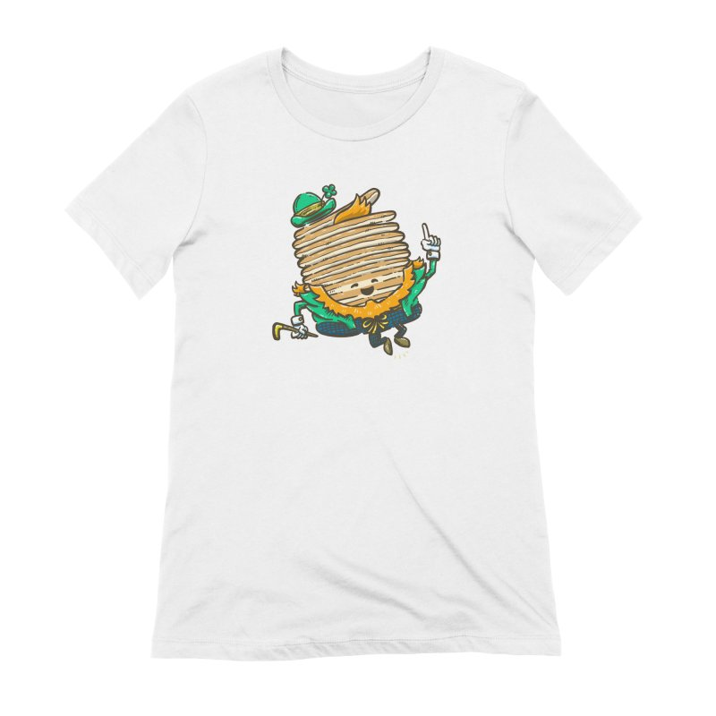 St Patrick Cakes Women's Extra Soft T-Shirt by nickv47