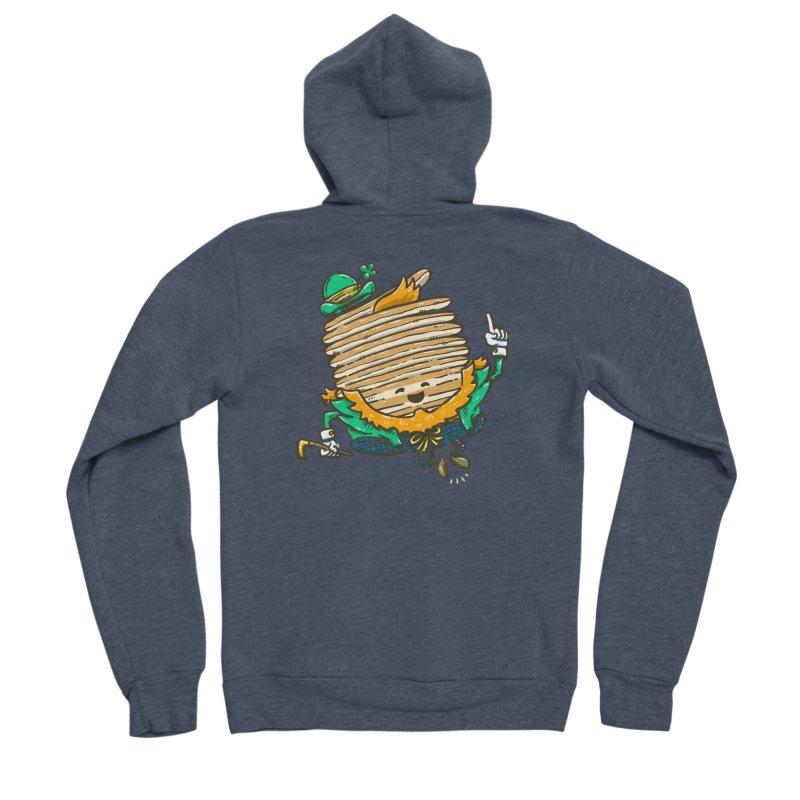 St Patrick Cakes Women's Sponge Fleece Zip-Up Hoody by nickv47