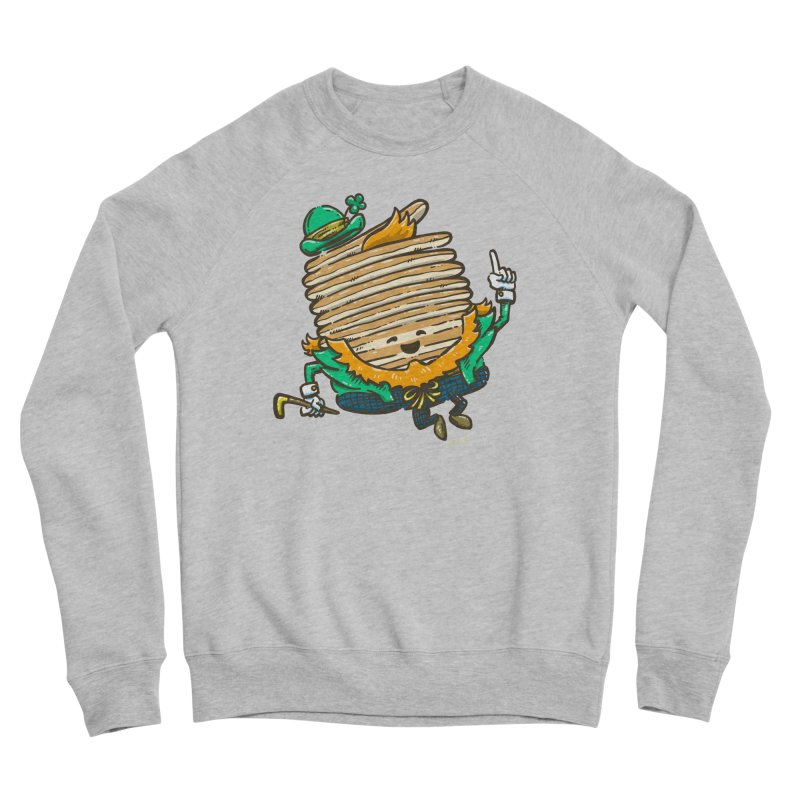 St Patrick Cakes Women's Sponge Fleece Sweatshirt by nickv47