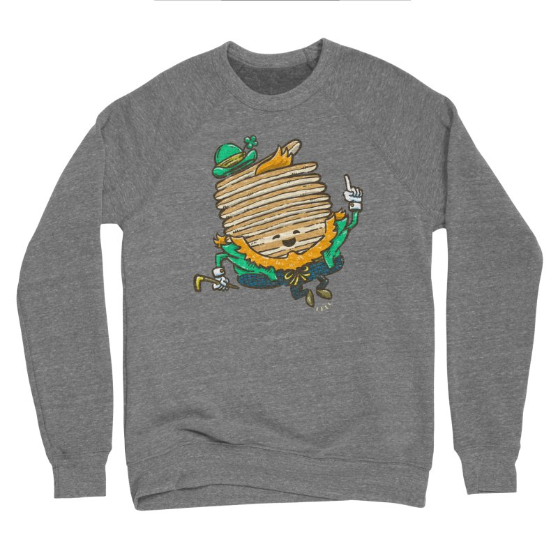 St Patrick Cakes Men's Sponge Fleece Sweatshirt by nickv47