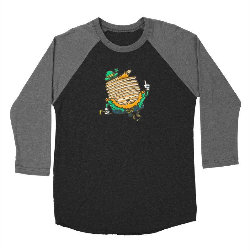 St Patrick Cakes Women's Baseball Triblend Longsleeve T-Shirt by nickv47