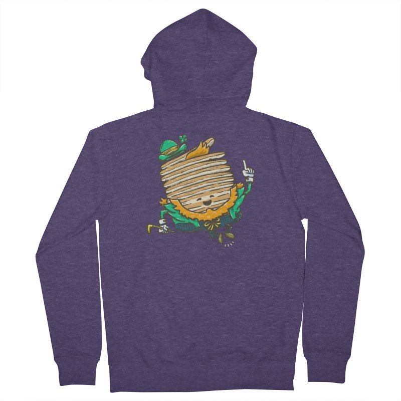 St Patrick Cakes Men's French Terry Zip-Up Hoody by nickv47