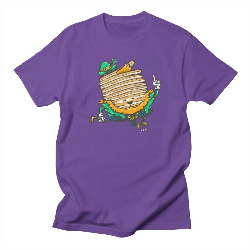 St Patrick Cakes Men's Regular T-Shirt by nickv47