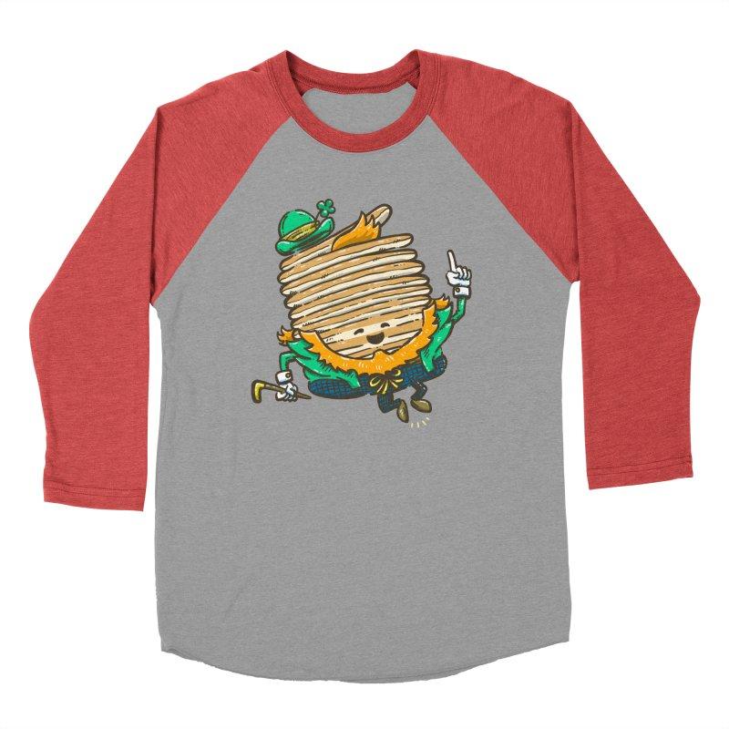 St Patrick Cakes Women's Baseball Triblend Longsleeve T-Shirt by nickv47